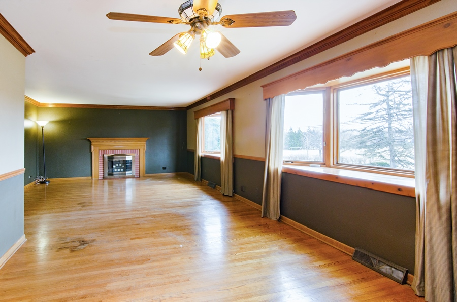 Real Estate Photography - 111 Beverly Rd, Barrington, IL, 60010 - Living Room / Dining Room