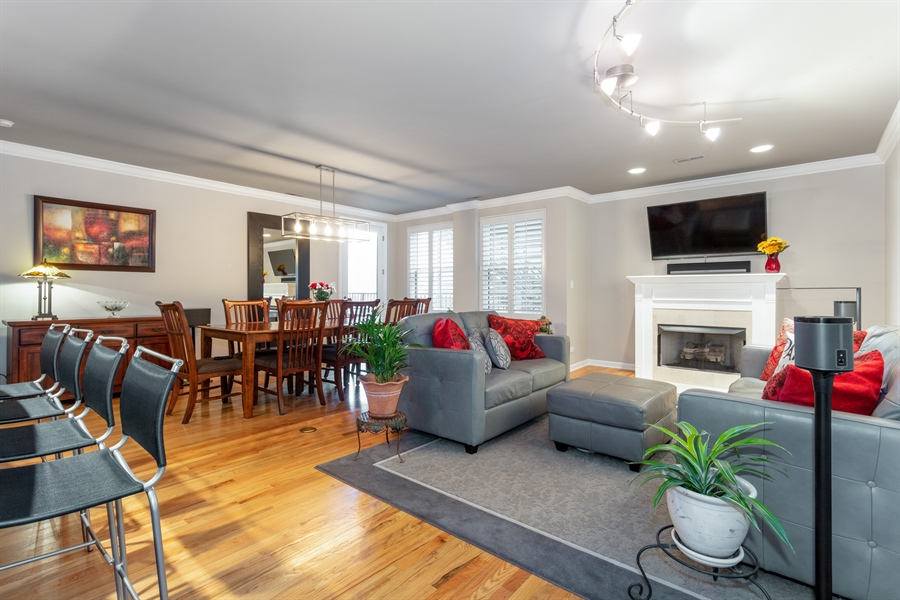 Real Estate Photography - 1426 N Orleans St, Unit 203, Chicago, IL, 60610 - Living Room