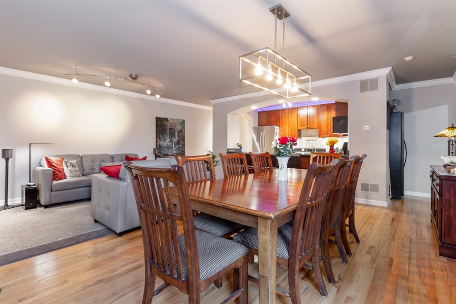 Real Estate Photography - 1426 N Orleans St, Unit 203, Chicago, IL, 60610 - Dining Area