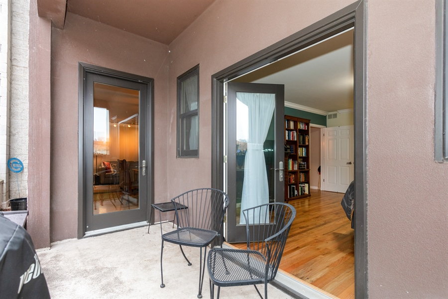 Real Estate Photography - 1426 N Orleans St, Unit 203, Chicago, IL, 60610 - Balcony