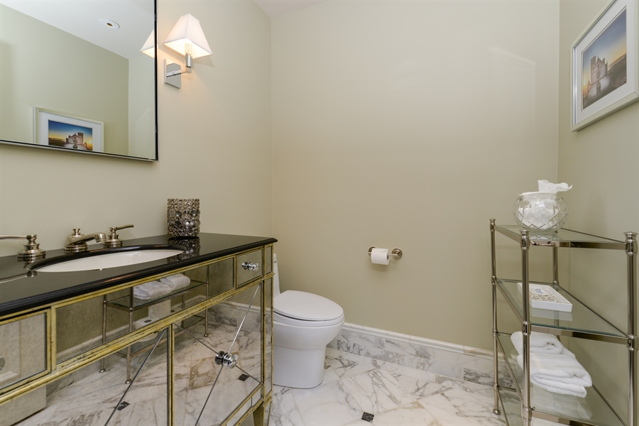 Real Estate Photography - 100 E Huron St, Unit 3904, Chicago, IL, 60611 - 3rd Bathroom