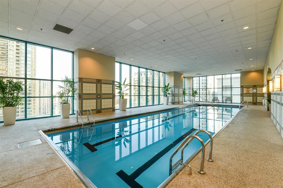 Real Estate Photography - 100 E Huron St, Unit 3904, Chicago, IL, 60611 - Entertainment Room