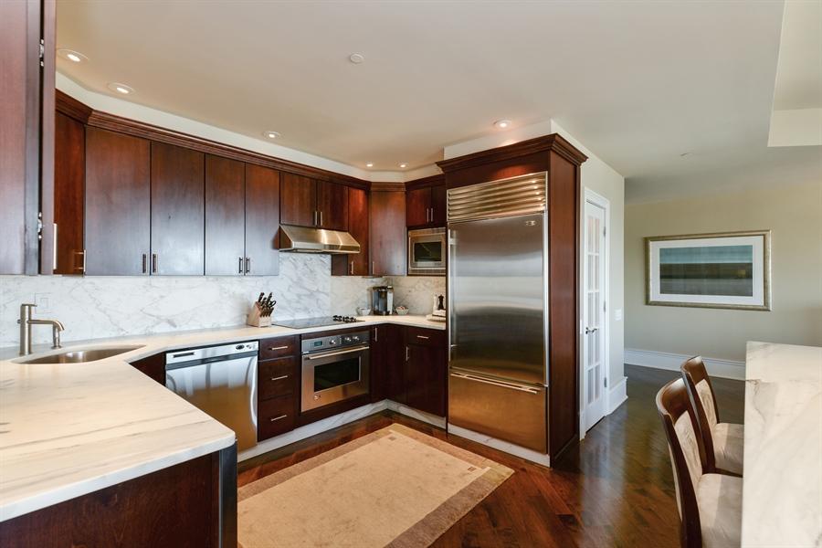 Real Estate Photography - 100 E Huron St, Unit 3904, Chicago, IL, 60611 - Kitchen