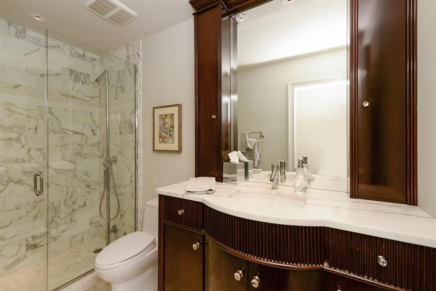 Real Estate Photography - 100 E Huron St, Unit 3904, Chicago, IL, 60611 - 2nd Bathroom