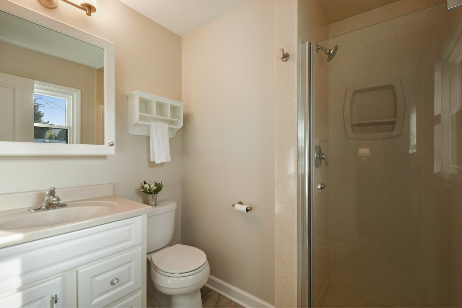 Real Estate Photography - 339 E Russell St, Barrington, IL, 60010 - Master Bathroom