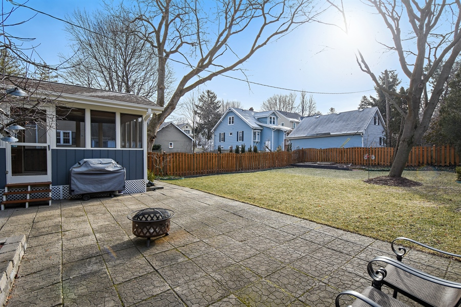 Real Estate Photography - 339 E Russell St, Barrington, IL, 60010 - Back Yard