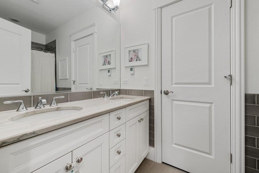 Real Estate Photography - 3023 N Hamilton Ave, Chicago, IL, 60618 - 3rd Bathroom Jack & Jill