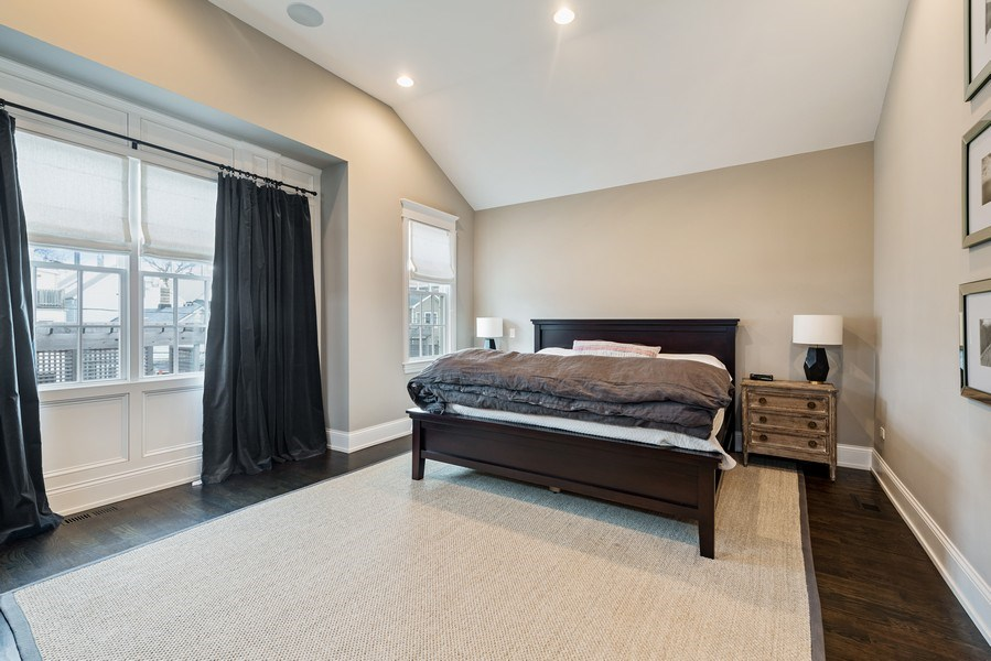 Real Estate Photography - 3023 N Hamilton Ave, Chicago, IL, 60618 - Master Bedroom