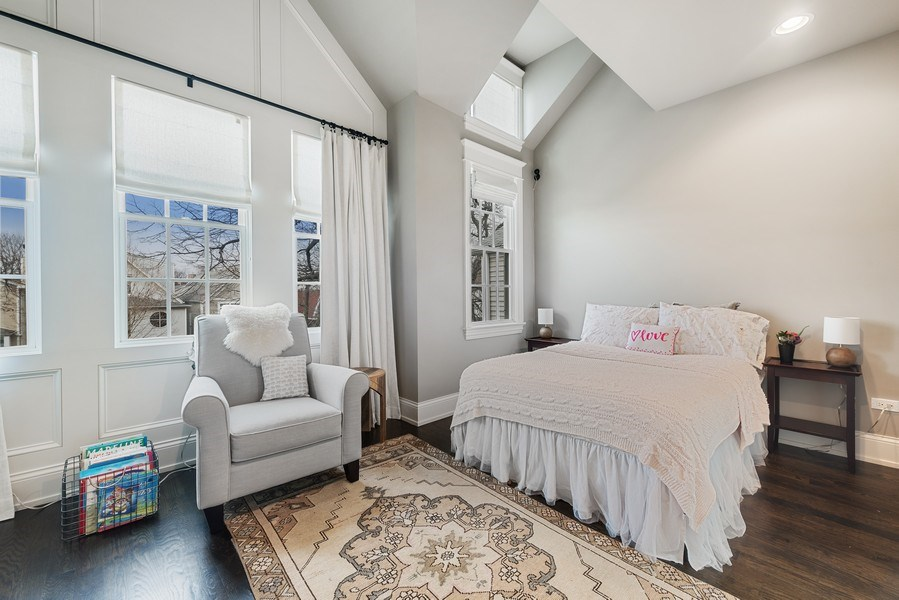 Real Estate Photography - 3023 N Hamilton Ave, Chicago, IL, 60618 - 2nd Bedroom