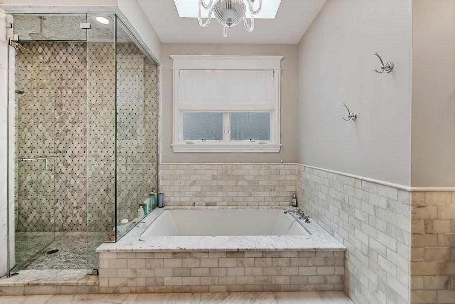 Real Estate Photography - 3023 N Hamilton Ave, Chicago, IL, 60618 - Master Bathroom