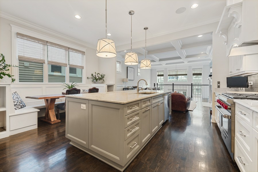 Real Estate Photography - 3023 N Hamilton Ave, Chicago, IL, 60618 - Kitchen