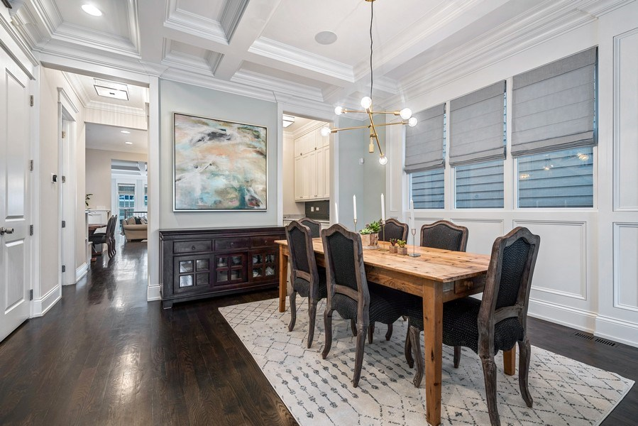 Real Estate Photography - 3023 N Hamilton Ave, Chicago, IL, 60618 - Dining Room