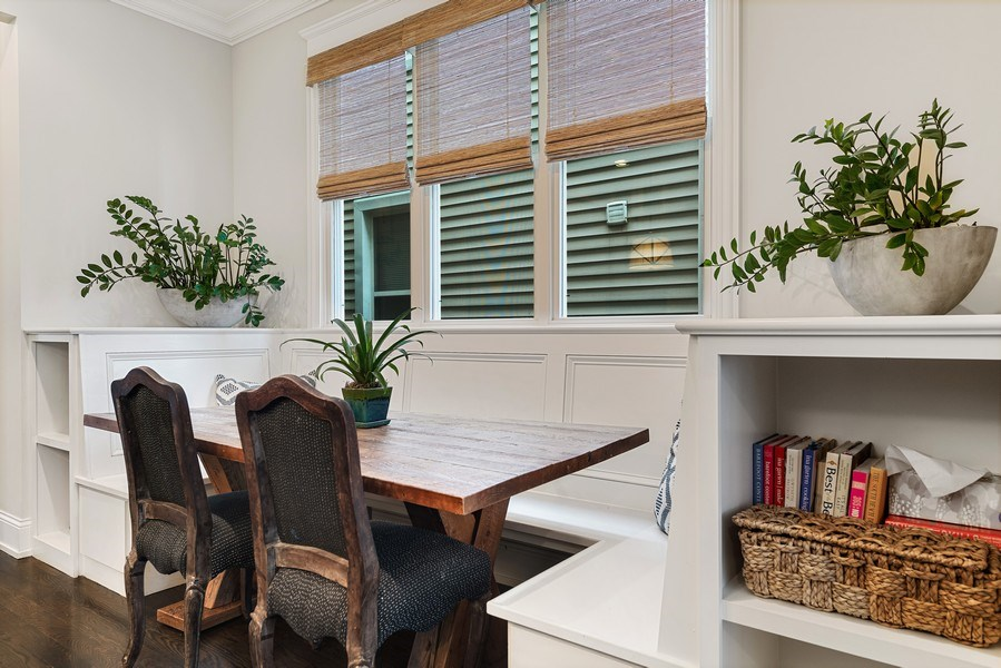 Real Estate Photography - 3023 N Hamilton Ave, Chicago, IL, 60618 - Breakfast Area