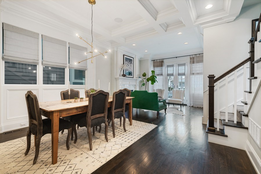 Real Estate Photography - 3023 N Hamilton Ave, Chicago, IL, 60618 - Dining Area