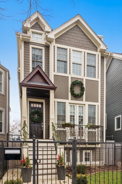 Real Estate Photography - 3023 N Hamilton Ave, Chicago, IL, 60618 - Front View