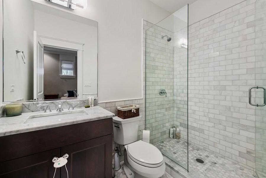 Real Estate Photography - 3023 N Hamilton Ave, Chicago, IL, 60618 - 5th Bathroom