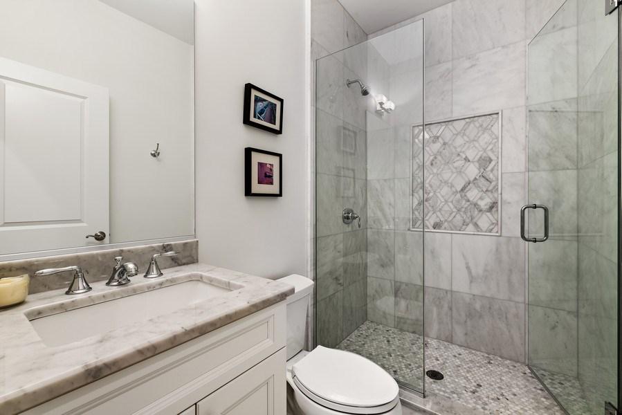 Real Estate Photography - 3023 N Hamilton Ave, Chicago, IL, 60618 - 4th Bathroom