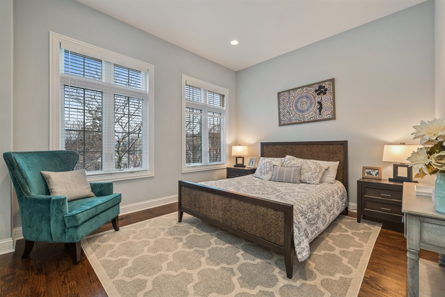 Real Estate Photography - 2639 W Medill Ave, Chicago, IL, 60647 - 2nd Bedroom