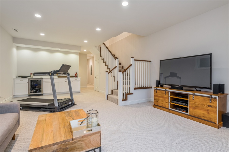 Real Estate Photography - 2639 W Medill Ave, Chicago, IL, 60647 - Lower Level