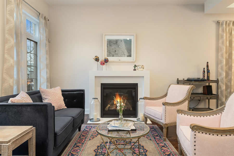 Real Estate Photography - 2639 W Medill Ave, Chicago, IL, 60647 - Living Room