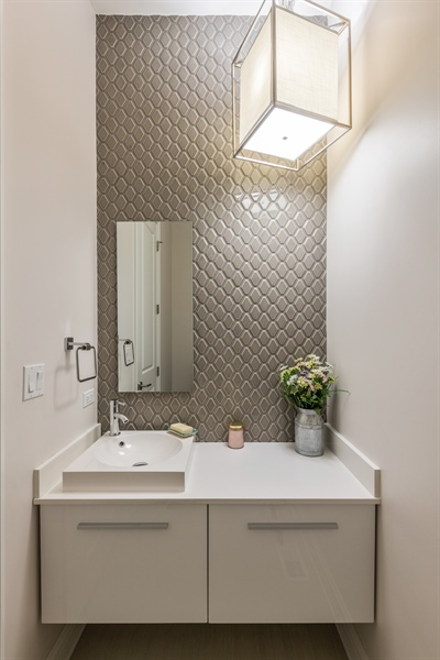 Real Estate Photography - 2639 W Medill Ave, Chicago, IL, 60647 - Powder Room