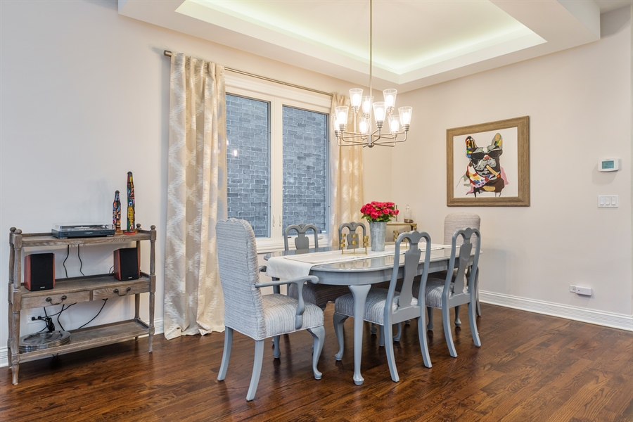 Real Estate Photography - 2639 W Medill Ave, Chicago, IL, 60647 - Dining Room