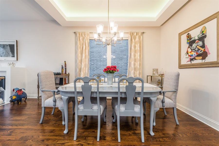 Real Estate Photography - 2639 W Medill Ave, Chicago, IL, 60647 - Dining Area