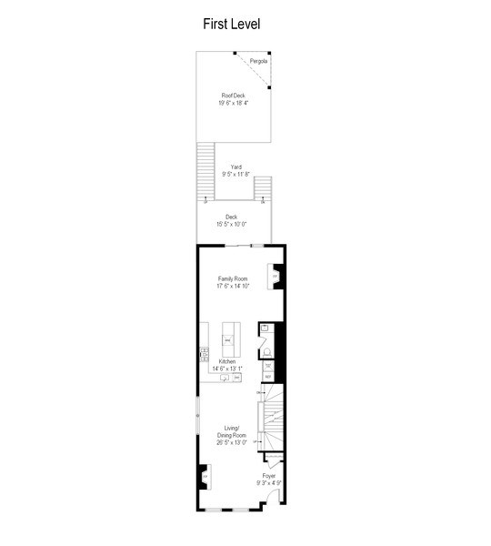 Real Estate Photography - 2639 W Medill Ave, Chicago, IL, 60647 - Floor Plan