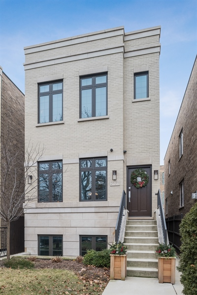 Real Estate Photography - 2639 W Medill Ave, Chicago, IL, 60647 - Front View