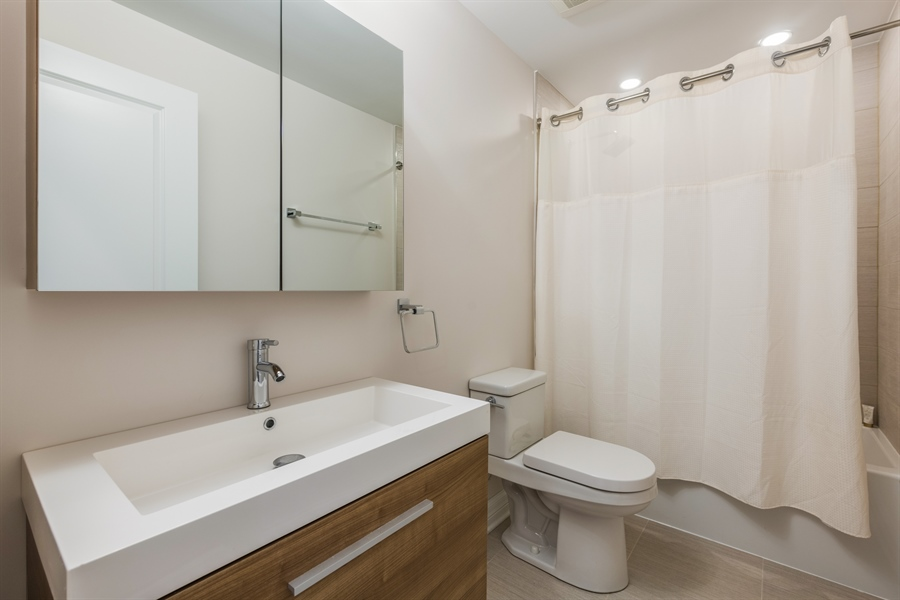 Real Estate Photography - 2639 W Medill Ave, Chicago, IL, 60647 - 3rd Bathroom