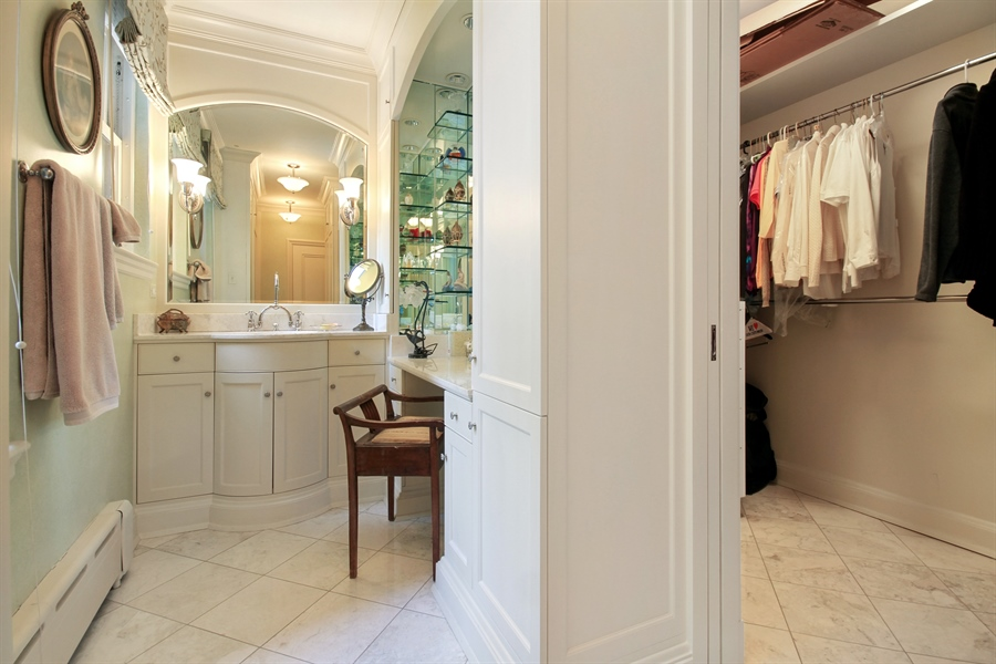 Real Estate Photography - 1530 N State Pkwy, Unit 3, Chicago, IL, 60610 - Master Bathroom