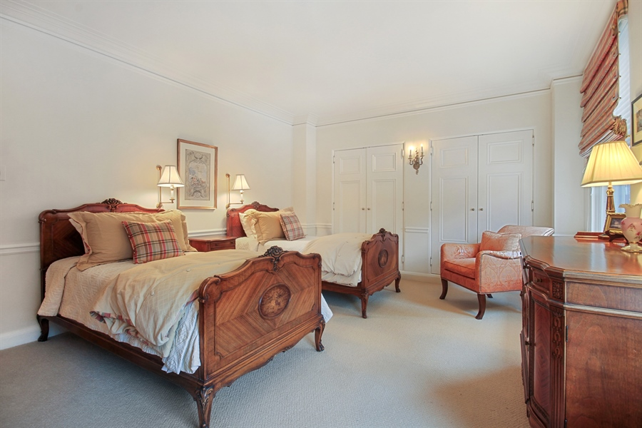 Real Estate Photography - 1530 N State Pkwy, Unit 3, Chicago, IL, 60610 - 3rd Bedroom