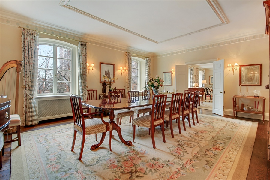 Real Estate Photography - 1530 N State Pkwy, Unit 3, Chicago, IL, 60610 - Dining Room