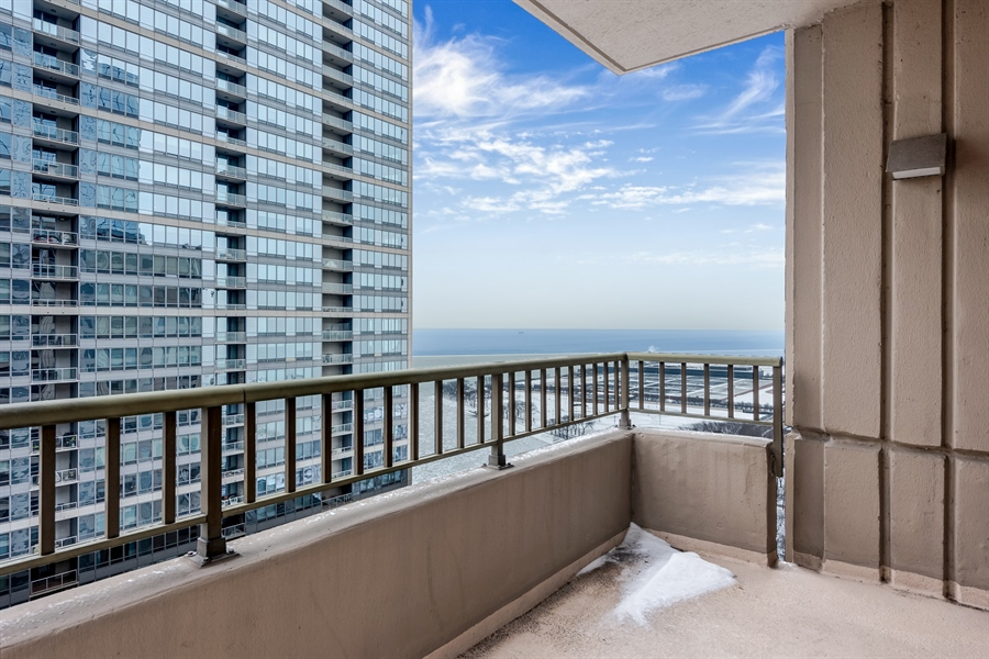 Real Estate Photography - 530 N Lake Shore Drive, Unit 2500, Chicago, IL, 60611 - View
