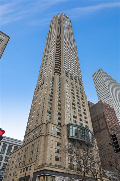 Real Estate Photography - 800 N Michigan Ave, Unit 4801, Chicago, IL, 60611 - Front View