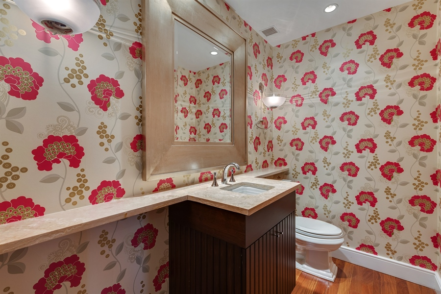 Real Estate Photography - 800 N Michigan Ave, Unit 4801, Chicago, IL, 60611 - Bathroom