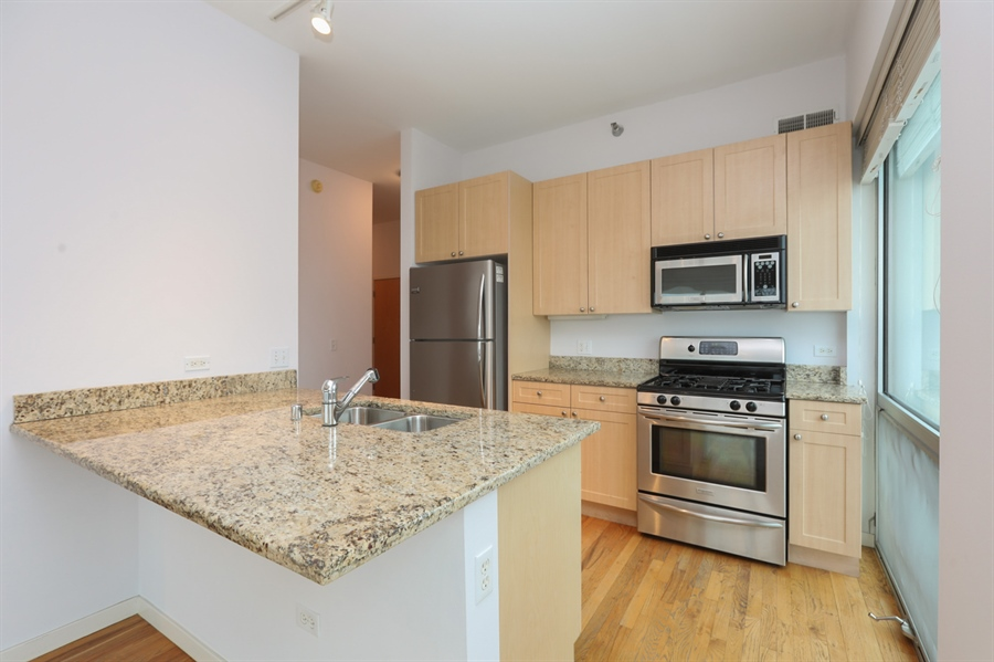 Real Estate Photography - 1845 S Michigan, Unit 2005, Chicago, IL, 60616 - Kitchen