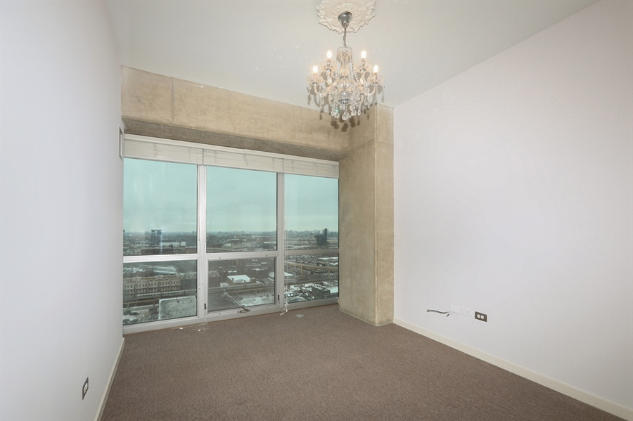 Real Estate Photography - 1845 S Michigan, Unit 2005, Chicago, IL, 60616 - Master Bedroom