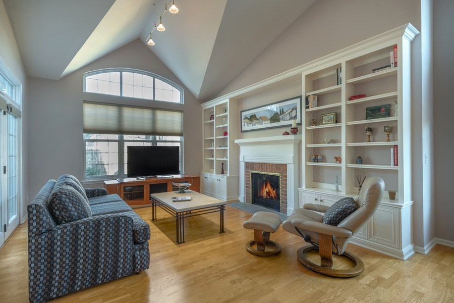 Real Estate Photography - 3018 Lexington, Glenview, IL, 60026 - Living Room