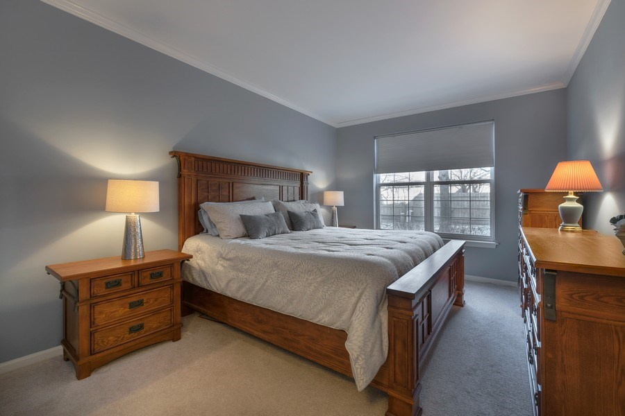 Real Estate Photography - 3018 Lexington, Glenview, IL, 60026 - Master Bedroom