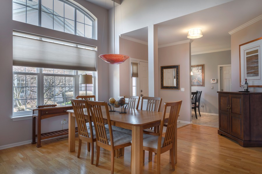 Real Estate Photography - 3018 Lexington, Glenview, IL, 60026 - Dining Room