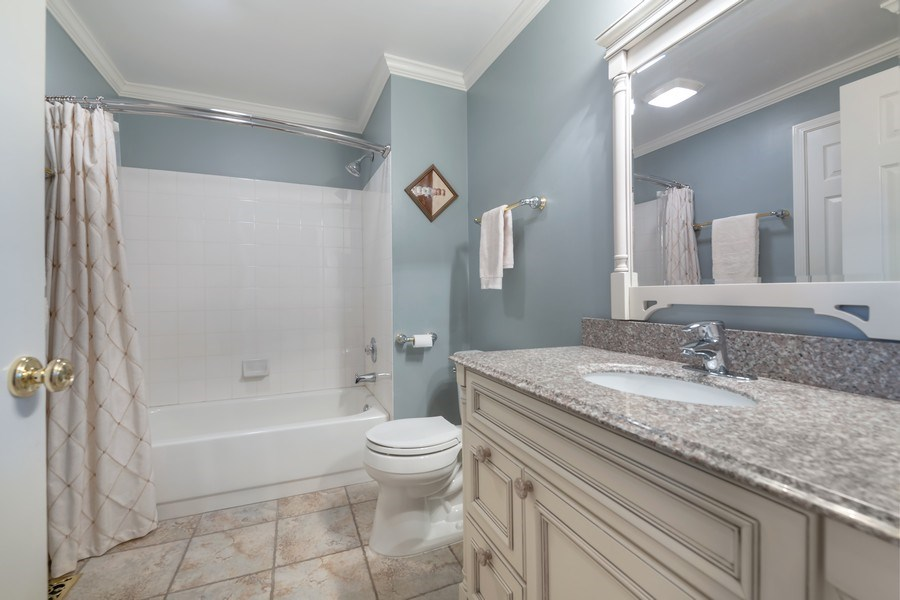 Real Estate Photography - 3018 Lexington, Glenview, IL, 60026 - Half Bath