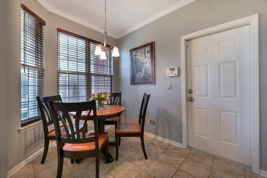 Real Estate Photography - 3018 Lexington, Glenview, IL, 60026 - Breakfast Nook