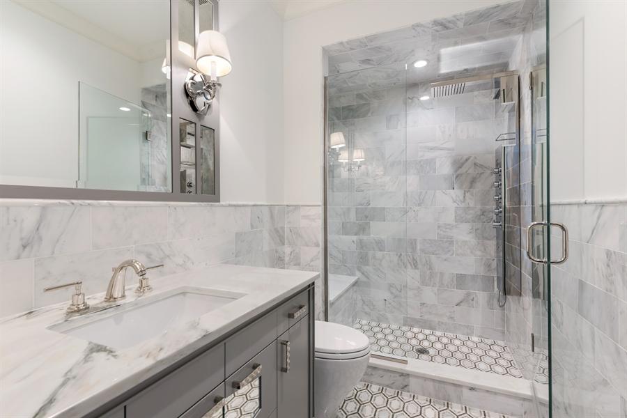 Real Estate Photography - 790 Prospect Ave, Winnetka, IL, 60093 - 3rd Bathroom