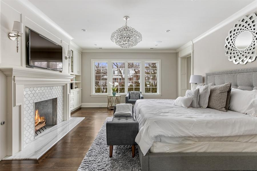 Real Estate Photography - 790 Prospect Ave, Winnetka, IL, 60093 - Master Bedroom