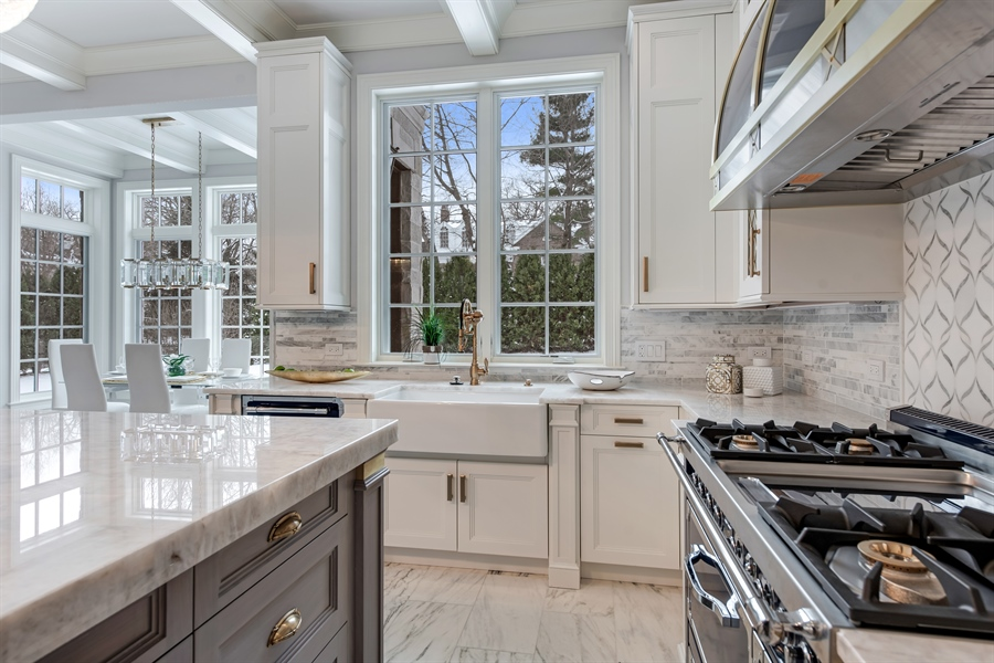 Real Estate Photography - 790 Prospect Ave, Winnetka, IL, 60093 - Kitchen