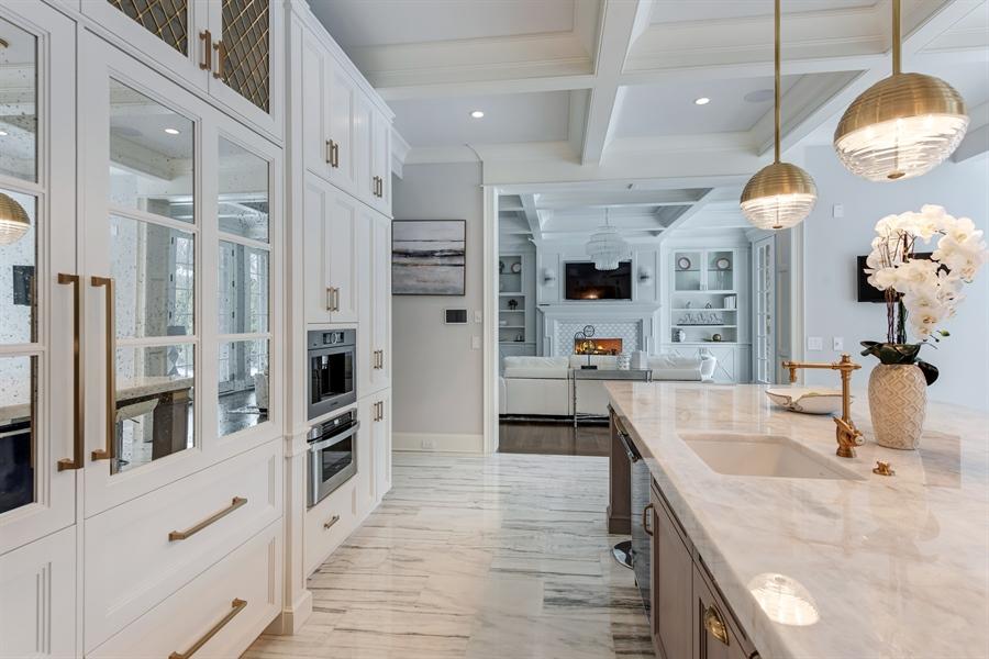 Real Estate Photography - 790 Prospect Ave, Winnetka, IL, 60093 - Kitchen