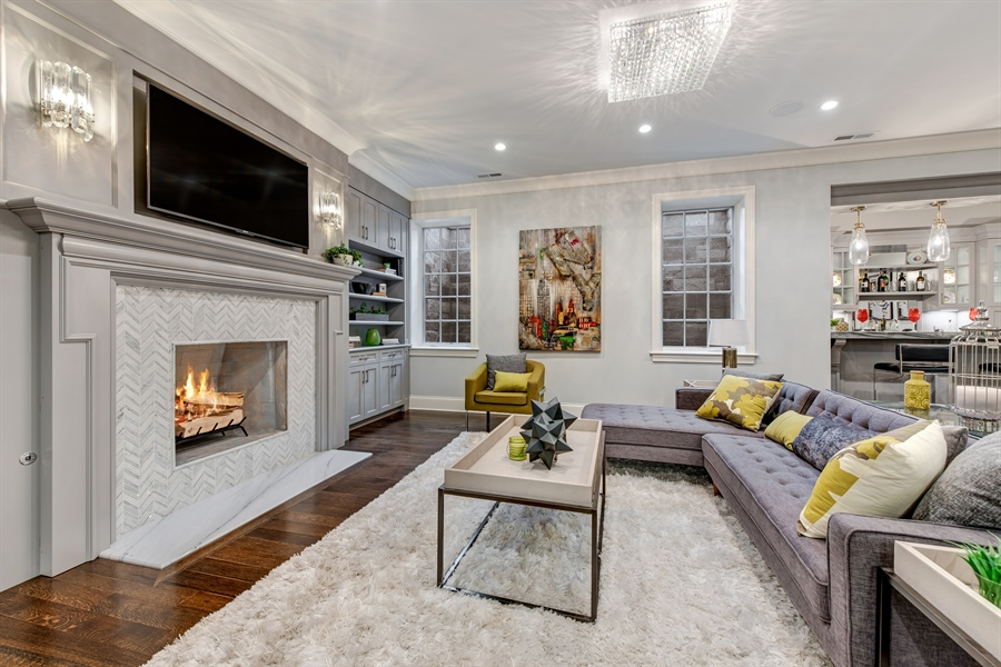 Real Estate Photography - 790 Prospect Ave, Winnetka, IL, 60093 - Recreational Room