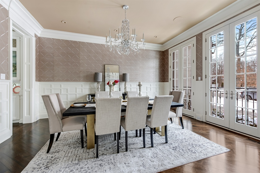 Real Estate Photography - 790 Prospect Ave, Winnetka, IL, 60093 - Dining Room