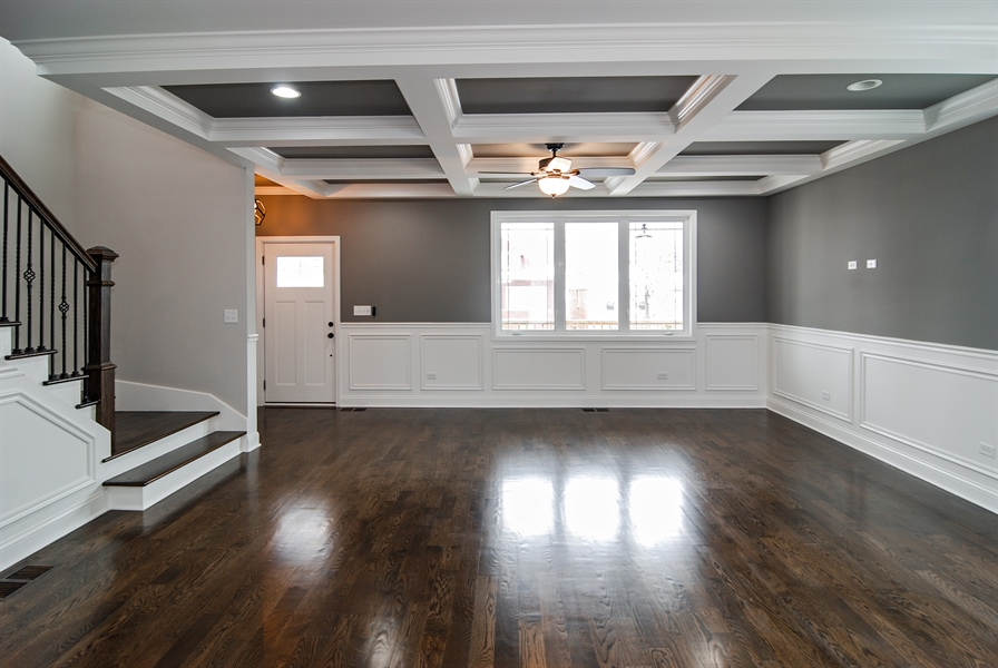 Real Estate Photography - 3512 East Ave, Berwyn, IL, 60402 - Living Room